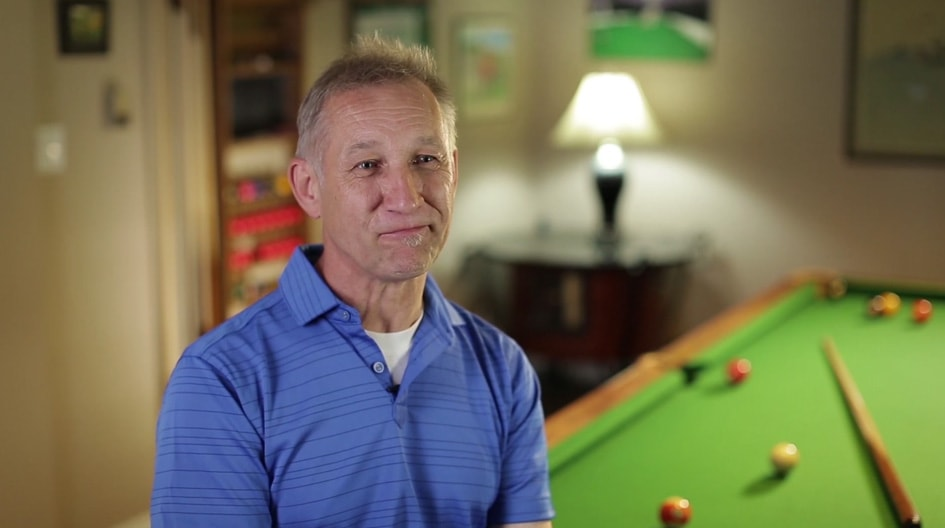 Play video A real game changer: how we helped get Mark's flooded games room and billiards night back on cue